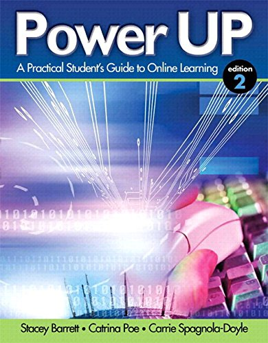 Power Up: A Practical Student's Guide to Online Learning Plus NEW MyStudentSuccessLab Update -- Access Card Package (2nd Edition)