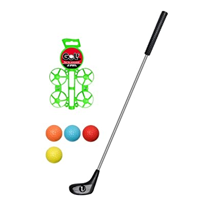 Big Size ! Popular Sport Play Toys Kids' Golf Accessories Kits Sets for Kids Toddler Children: Toys & Games