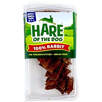 Amazon.com : Hare Of The Dog 100% Rabbit Jerky For Large