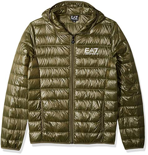 549a737b004 EA7 Emporio Armani Active Men s Train Core Hooded Down Jacket