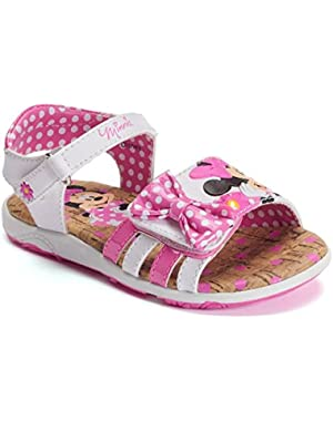 Disney's Minnie Mouse Sandals Toddler Girls' Light-Up