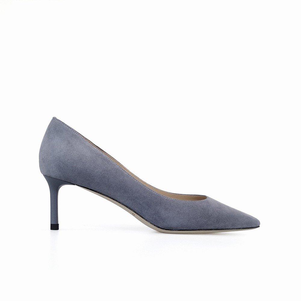 DHG Frühling und Sommer Flachen Flachen Flachen Mund Wies Hochhackige Schuhe mit Feinen Pailletten Hochzeit Schuhe Damenschuhe,Ein,38 5a5658