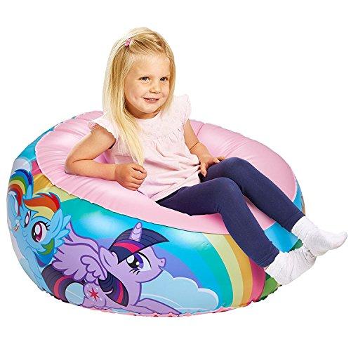 Rainbow Dash My Little Pony Round Fun Inflatable Bouncy Chair