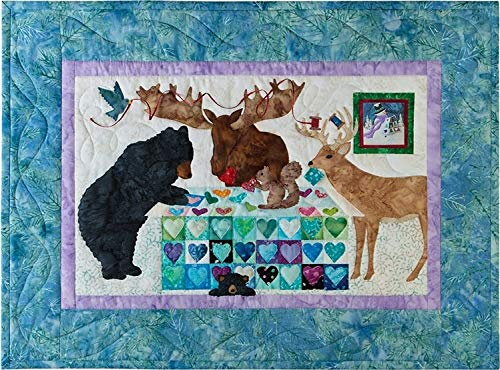 12 Months of Happy~Feb.02~The Quilting Bee 25 x 18 Applique Laser Kit w/Fabric by Mckenna Ryan