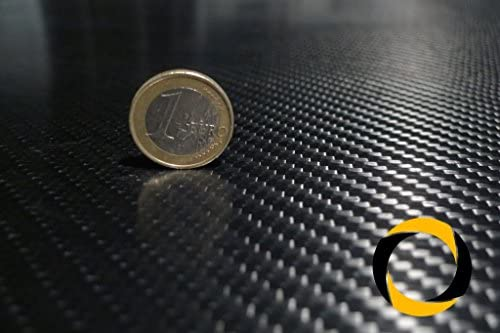 CFK-Platte Business 0,2-20 mm 350 x 150 mm Carbon Platte (0.2mm)