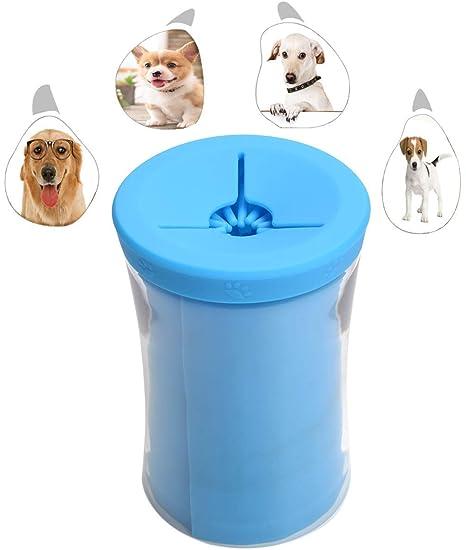 WCDP Dog Paw Cleaner Lavadora portátil para Mascotas con Forma de ...