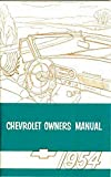 1954 Chevrolet Car Owners Manual 54 Chevy Owner 150 210 Bel Air Wagon