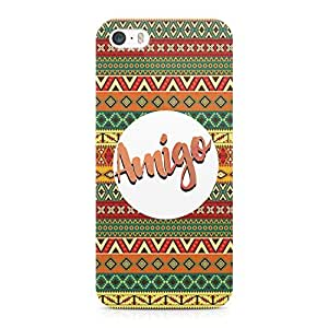 Loud Universe Amigo Light Weight Modern Wrap Around iPhone 5s Case - Multi Color