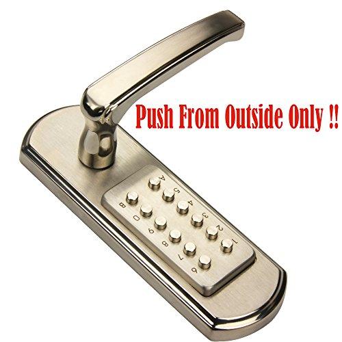 New Mechanical Door Lock Digital Code Keyless Keypad