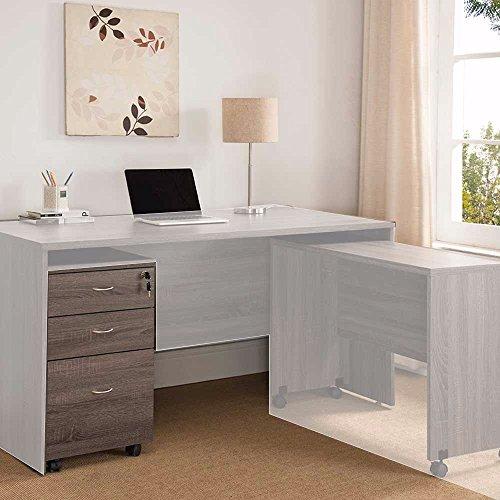 Benzara BM148852 Wide Storage Mobile File Cabinet by Benzara