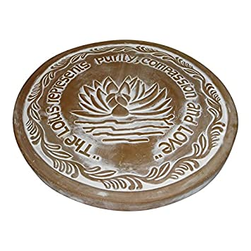 The Crabby Nook Warming Tile Stone Terracotta Bread Rolls 11 Inch
