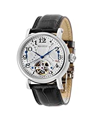 Seagull Automatic Mechanical Mens Watch M172s Skeleton Flywheel Power Reserve Genuine Leather Strap by Seagull