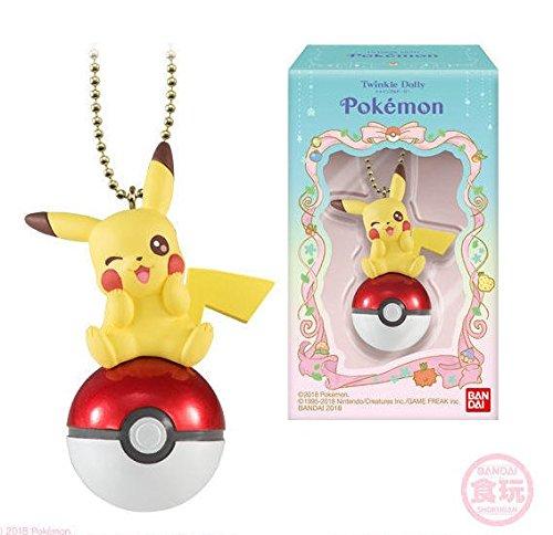 Shokugan Twinkle Dolly Pokémon Pikachu and Monster Ball (single)