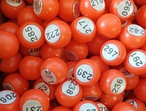 ClubKing Ltd Raffle Balls, 18mm, 201 to 300