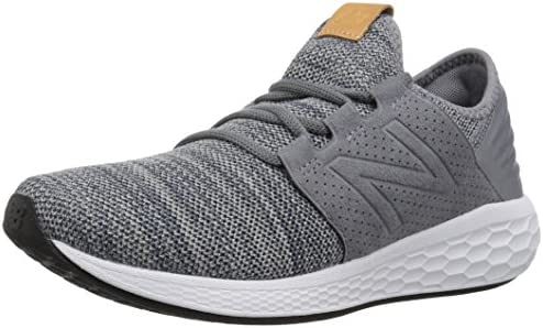 New Balance Men s Cruz V2 Fresh Foam Running Shoe, gunmetal, 8.5 D US
