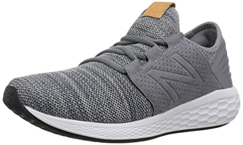 New Mens Sports Shoes - New Balance Men's Cruz V2 Fresh Foam Running Shoe, gunmetal, 12 D US