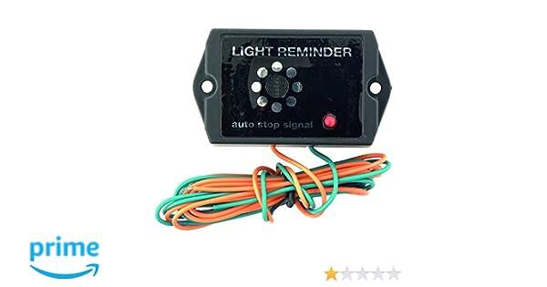 Carpoint Avisador de Luces encendidas 6-12V 3,8x3,5x2,7cm ...