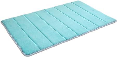 40/× 60 cm Kentop Cuarto de ba/ño ged/ächtnis Espuma Esterilla Antideslizante Alfombra Absorbente 40//× 60/cm Azul Celeste