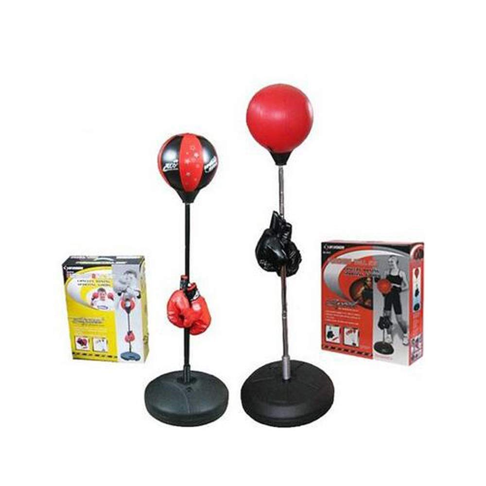 MINRUIGONGMAO Boxing Punching Bag, Boxing Ball Venting Ball, Decompression Fitness Equipment, Red. Sporting Goods, (Color : Red) by MINRUIGONGMAO