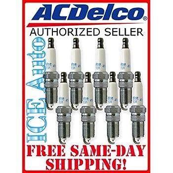 ACDelco 41-962 Professional Platinum Spark Plug (8 Pack)