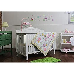 Butterfly Garden 3 Piece Bedding Set by Nurture