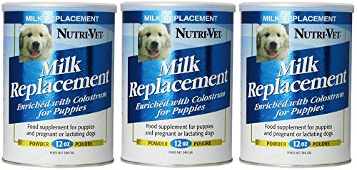 Nutri-Vet Milk Replacement for Puppies - 12 Oz (Тhrее Pаck)