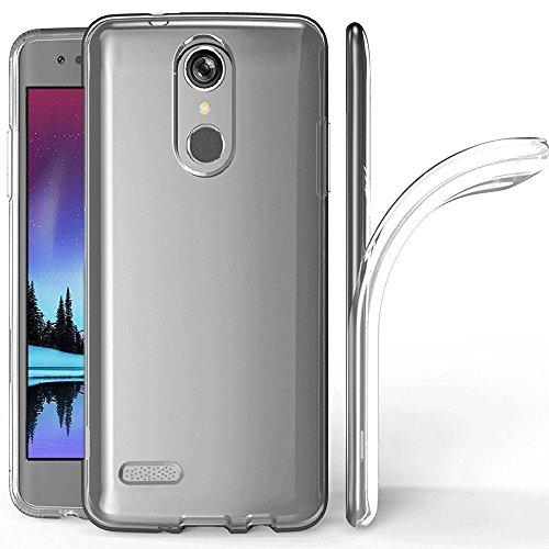 LG K10 2018 Case, LG K30 Case, LG Premier Pro/LG K10 Alpha Case, Skmy Soft TPU Case Crystal Transparent Slim Anti Slip Case Back Protector Case Cover for LG K10 2018 / LG K30 (Clear)