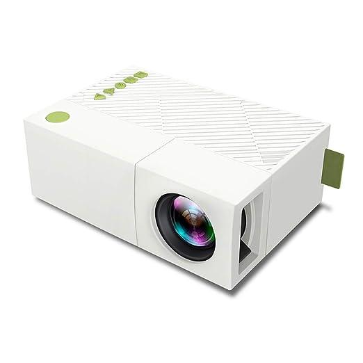 ZGYQGOO Mini proyector, proyector portátil 3600 lúmenes Pantalla ...