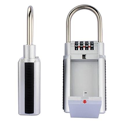Pared caja para llaves clave de seguridad botón de caja de seguridad Candado Combinación Caja Clave