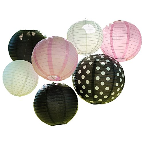 Bobee Party Decorations Black Lantern product image