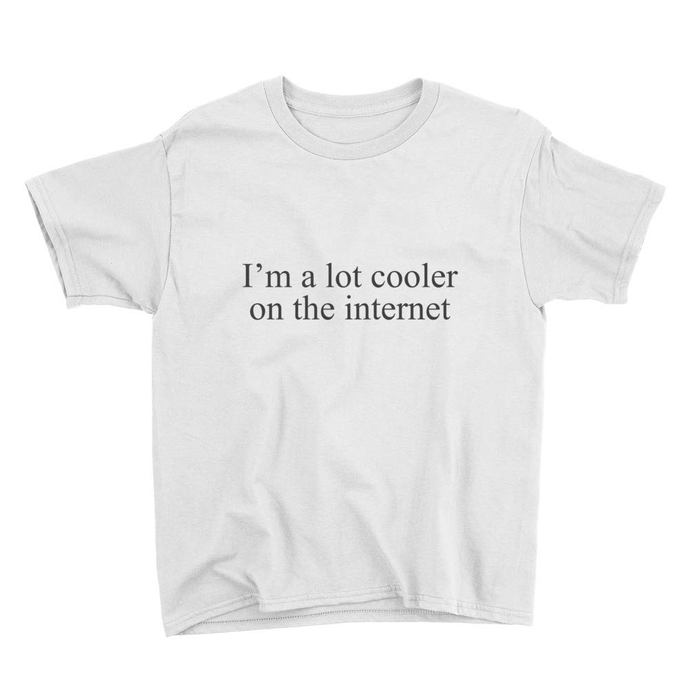 Im A Lot Cooler On The Internet Youth T-Shirt