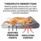 Furhaven Pet Dog Bed - Memory Foam Micro Velvet