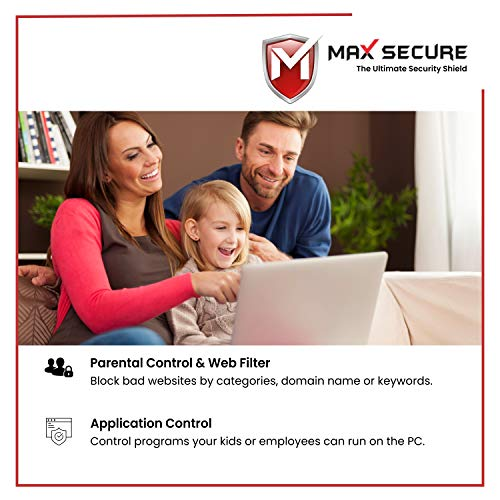 Max Secure Anti-Virus Plus with Ransomware Protection ( Windows ) - 1 PC 1 Year (Email Delivery in 2 Hours - No CD) 5