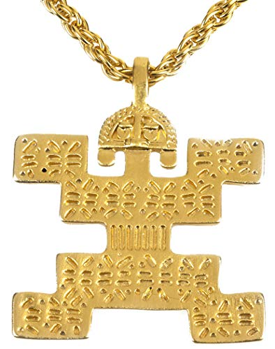 Reproduction of the Pre Columbian Tolima Pendant, From Our Museum Collection