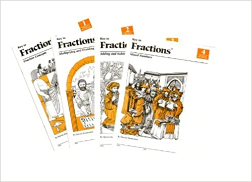 Key to Fractions, Books 1-4: Steven Rassmussen: 9781559531009 ...