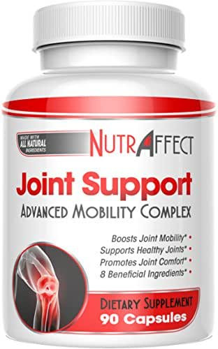Glucosamine Chondroitin Joint Support Supplements with MSM + Turmeric for Advanced Pain Relief - Best Anti-Inflammation, Vitamins & Flex Pills for Hips, Knees - Natural Health Complex for Men & Women