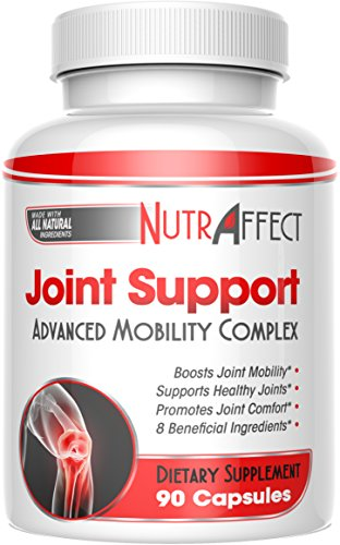 Glucosamine Chondroitin Joint Support Supplements with MSM + Turmeric for Advanced Pain Relief - Best Anti-Inflammation, Vitamins & Flex Pills for Hips, Knees - Natural Health Complex for Men & ()