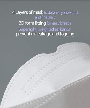 Fine//Yellow Dust ATB-UV KF94/% Filter Mask Beige Nova Check K-pop Style Korea