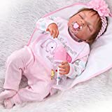 "22"" Full Body Silicone Vinyl Reborn Doll Lifelike Anatomically Correct Baby Girl Doll"