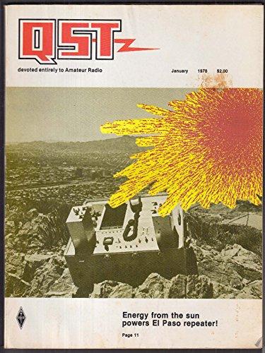 Coupler Repeater - QST Amateur Radio El Paso Repeater Quadrature Hybrid Couplers + 1 1978