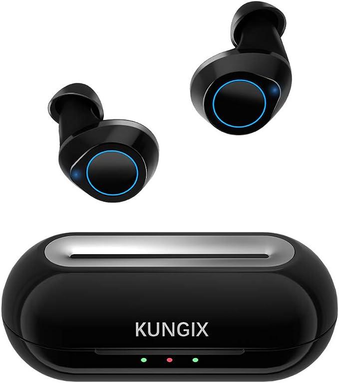 150 opinioni per KUNGIX Auricolari Bluetooth 5.0, Cuffie Bluetooth Sport Wireless Mini Cuffie