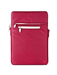 "Vangoddy Hydei13MAG Shoulder Cross Body Bag Laptop Case for 11"" MacBook Air/iPad Pro 12"", Pink"