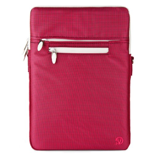 VanGoddy Hydei Crossbody Bag for HP Chromebook 11.6 to 13.3 inch Laptops (Pink)