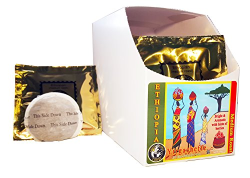 ETHIOPIAN COFFEE PODS - Good As Gold Coffee - (1 Box/20 Coffee Pods)