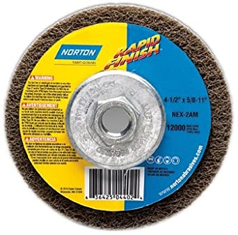 4.5 X 7//8 Extra Coarse S//C 15 Pack Depressed Center Wheels 12000 rpm Silicon Carbide