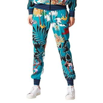 adidas Mary Katrantzou Pantalon Jogging imprimé Multicolore Femme AA1337  (XS) 48486335526