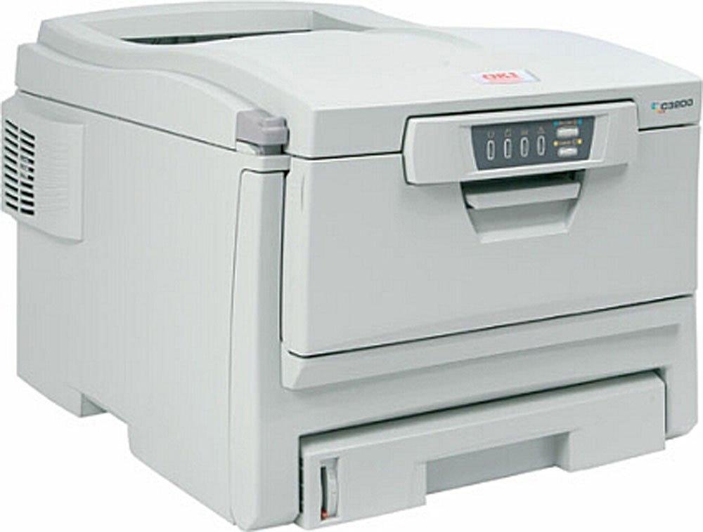 OKI C3200 Impresora láser LED página de impresora Model ...
