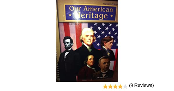 Amazon.com: Our American Heritage (3rd) Teacher Edition (Paperback ...
