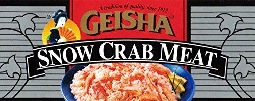Snow Crab Meat, Wild Caught, 6 oz Can - Geisha - PARENT