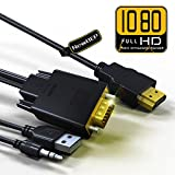 Best Cord USBs - HDMI to VGA Cable Adapter with Audio Cord Review